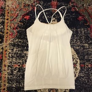 White Cream Lululemon Tank